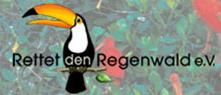 Logo von Rettet den Regenwald