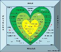 Modell der Herzen