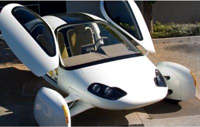 Futuristisches 1 Liter ElektroAuto für 2 Personen