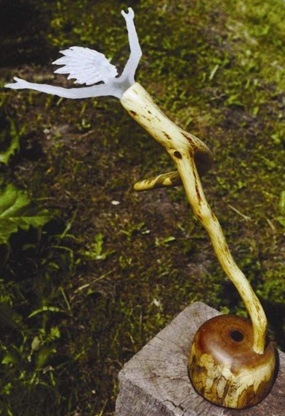 Balance Glaskunst von Sabine Nein 2002