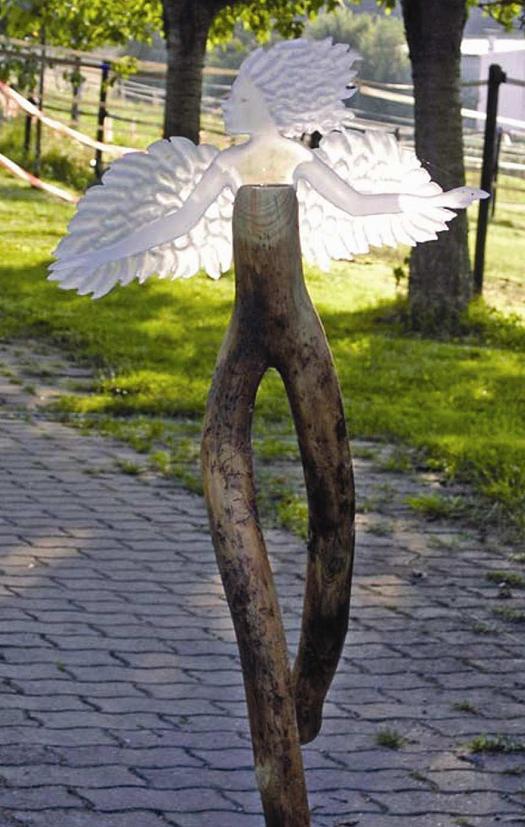 Engel Glaskunst von Sabine Nein 2002