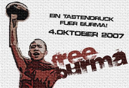 FREE MYANMAR FREE BIRMA